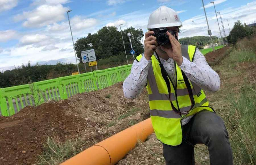 construction site photography services